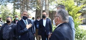 Başkan Büyükkılıç'tan şehit ailesine taziye ziyareti