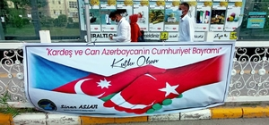 İpekyolu'nda Azerbaycan'ın kurtuluş coşkusu