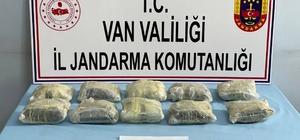 Gömülü çuvalda 10 kilo 594 gram metamfetamin çıktı