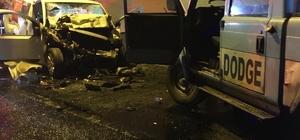 Giresun'da tünel içinde iki araç kafa kafaya çarpıştı: 2 ölü, 2 yaralı