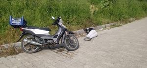 Motosikletin yanında yerde yatan şahıs ekipleri harekete geçirdi