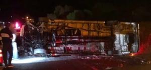 İzmir'de film ekibini taşıyan minibüs kaza yaptı: 9 yaralı