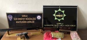 Çorlu polisinden uyuşturucu satıcılarına operasyon
