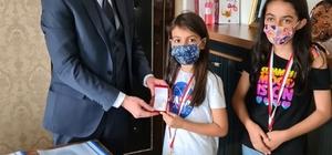 Tomarzalı öğrenciler Türkiye 3.'sü oldu