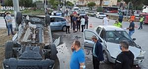 Manisa'da zincirleme trafik kazası: 3 yaralı