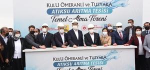 Konya'da Tuz Gölü'nün korunması için 4 önemli yatırımın temeli atıldı
