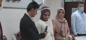 İHA muhabirinin mutlu günü En mutlu gününde eşine mikrofon uzattı