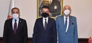 Van milletvekilleri Tarım ve Orman Bakanı Pakdemirli ile görüştü