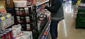 Aslanapa'da marketlerde fiyat kontrolü