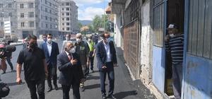 Büyükkılıç'tan İncesu'ya 10 bin tonluk asfalt yatırımı