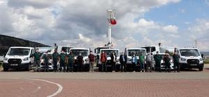 Menteşe Belediyesi araç filosunu güçlendiriyor Menteşe Belediyesi vatandaşlara daha sağlıklı ve daha hızlı hizmet üretebilmek adına bünyesine yeni araçlar kazandırdı.
