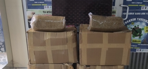 Tekirdağ'da 190 kilogram kaçak tütün ve binlerce makaron ele geçirildi
