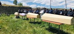 Katliam gibi kazada hayatını kaybeden 4 kişi Ağrı'da toprağa verildi