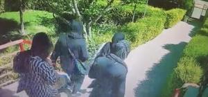Konya'da 4 kadın hırsız girdikleri evi yarım saat boyunca talan etti 4 kadın hırsızın girdikleri evden 5 bin lira nakit parayı çaldıktan sonra apartman çıkması kamerada
