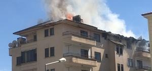 Elazığ'da yangın, bina ve bir okuldaki öğrenciler tahliye edildi