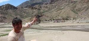 Ayvalı Barajında su seviyesi düştü