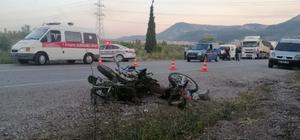 Soma'da karı-koca trafik kazasında hayatını kaybetti Soma'da trafik kazası: 2 ölü