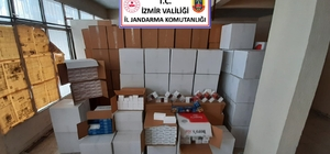 İzmir'de iki adrese kaçak sigara operasyonu: 2 gözaltı