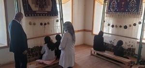 Tuşba Belediyesinden dezavantajlı kadınlara yönelik halı ve kilim kursu