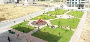 Karaköprü'de her ay yeni bir park yapılıyor