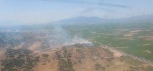 Manisa'da ormanlık alandaki yangın kontrol altına alındı