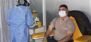 Erzincan'ın tüm ilçelerinde Biontech aşısı uygulanmaya başlandı
