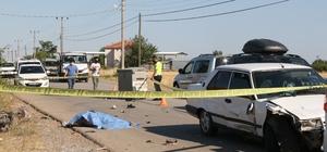 Antalya'da feci kaza:1 ölü Otomobille çarpışan motosiklet sürücüsü öldü, yolcusu ağır yaralandı