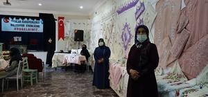 Erciş'te el sanatları sergisi