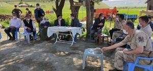 Kaymakam Demirer köy ziyaretlerine devam ediyor