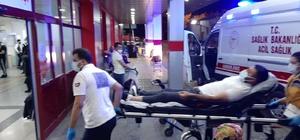 Yorgun mermi devriye gezen komiseri yaraladı Komiser hafif yaralandı, olayla ilgili geniş çaplı inceleme başlatıldı
