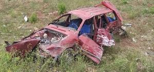 Bingöl'de otomobil ile traktör çarpıştı: 4 yaralı