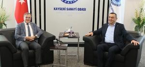 Başkan Özdoğan'dan KAYSO'ya ziyaret
