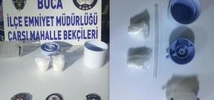 Uyuşturucuyu damacana pompasına saklayan şüpheli yakalandı
