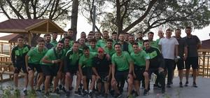 Aliağaspor FK, moral yemeğinde bir araya geldi Teknik ekip ve futbolculardan profesyonel lig sözü