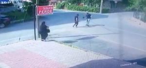 Komşuların kavgası kanlı bitti Tekirdağ'da bir şahsın tartıştığı komşusunu bıçakladığı anlar kameralara yansıdı
