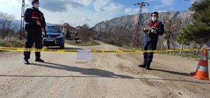 Erzincan'ın Kemah ilçesinde mezra karantinaya alındı