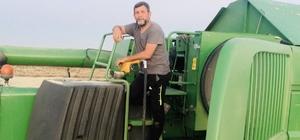 (Özel) Biçerdöverlerin yakıtları tarlalara taşınıyor Gün boyu hasat yapan biçerdöverlerin yakıtları tarlalarda dolduruluyor