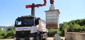 Fatsa'da teknolojik çöp toplama sistemi hizmete girdi