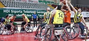 Şanlıurfa'nın iki takımı ligde kalmayı başardı HDI Sigorta Tekerlekli Sandalye Basketbol Süper Ligi