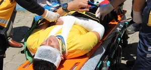 Bingöl'deki deprem ve yangın  tatbikatı gerçeği aratmadı