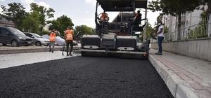 Selçuklu'da 72 mahallede asfalt çalışması sürüyor