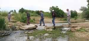 Köy halkının köprü çilesi