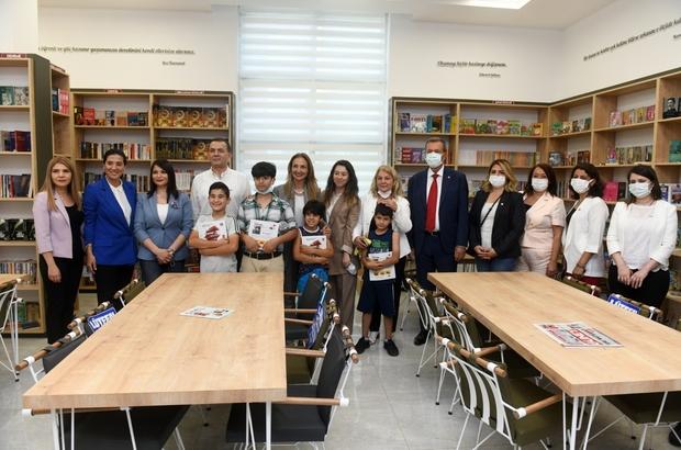 Ülkü Ongun Kütüphanesi Yenişehir'de açıldı