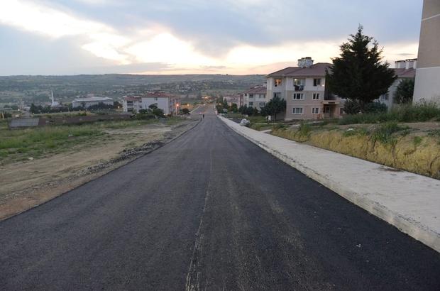 Süleymanpaşa'da 1 milyon metrekare yol hamlesi