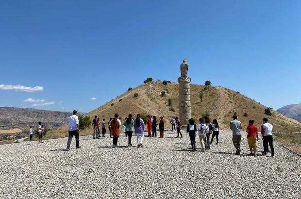 Kahta'daki çocuklara çevre bilinci aşılanıyor