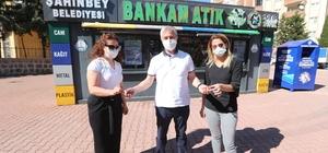 Şahinbey'de çevre dostları altın ile ödüllendiriliyor