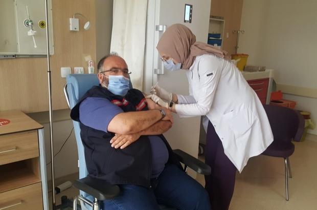 Suşehri'nde Aşıya yoğun ilgi