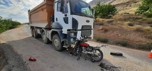 Elazığ'da trafik kazası:1 ölü