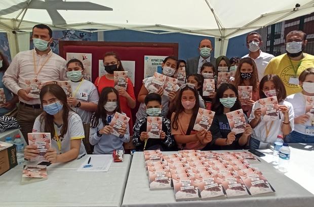 Pandemi dönemi öğrencilere yaradı Öğrenciler okullarından uzak kaldıkları dönemde yazdıkları hikayeler kitap oldu