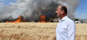 Başkan Doğru, ekin yangınlarına karşı çiftçileri uyardı